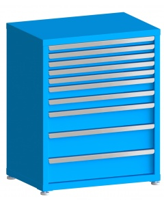 "100# Capacity Drawer Cabinet, 2"",2"",2"",2"",2"",3"",3"",5"",6"",6"" drawers, 37"" H x 30"" W x 21"" D"