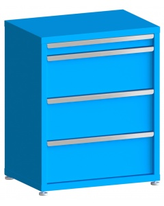 """200# Capacity Drawer Cabinet, 3"""",10"""",10"""",10"""" drawers, 37"""" H x 30"""" W x 21"""" D"""