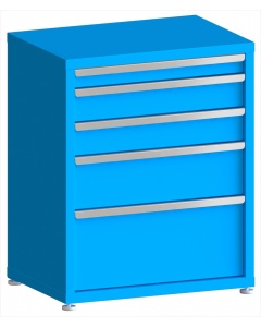 "100# Capacity Drawer Cabinet, 3"",5"",5"",8"",12"" drawers, 37"" H x 30"" W x 21"" D"