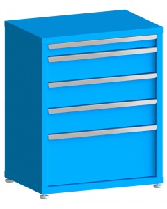 "100# Capacity Drawer Cabinet, 3"",6"",6"",6"",12"" drawers, 37"" H x 30"" W x 21"" D"