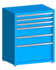 "100# Capacity Drawer Cabinet, 3"",3"",3"",6"",6"",12"" drawers, 37"" H x 30"" W x 21"" D"