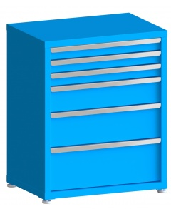 "100# Capacity Drawer Cabinet, 3"",3"",3"",6"",8"",10"" drawers, 37"" H x 30"" W x 21"" D"