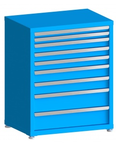 "100# Capacity Drawer Cabinet, 2"",2"",3"",3"",3"",4"",4"",6"",6"" drawers, 37"" H x 30"" W x 21"" D"