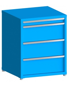 """200# Capacity Drawer Cabinet, 3"""",10"""",10"""",10"""" drawers, 37"""" H x 30"""" W x 28"""" D"""