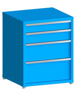 "100# Capacity Drawer Cabinet, 5"",6"",10"",12"" drawers, 37"" H x 30"" W x 28"" D"