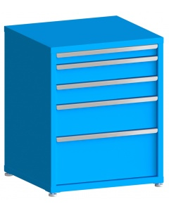 "100# Capacity Drawer Cabinet, 3"",5"",5"",8"",12"" drawers, 37"" H x 30"" W x 28"" D"