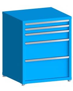 "100# Capacity Drawer Cabinet, 3"",3"",5"",10"",12"" drawers, 37"" H x 30"" W x 28"" D"