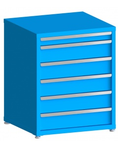 "100# Capacity Drawer Cabinet, 3"",6"",6"",6"",6"",6"" drawers, 37"" H x 30"" W x 28"" D"