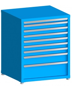 "100# Capacity Drawer Cabinet, 2"",3"",3"",3"",3"",3"",3"",5"",8"" drawers, 37"" H x 30"" W x 28"" D"
