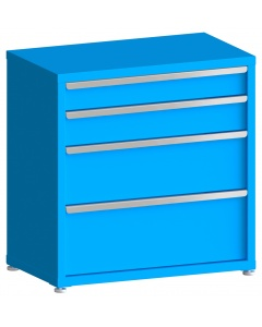 "100# Capacity Drawer Cabinet, 5"",6"",10"",12"" drawers, 37"" H x 36"" W x 21"" D"