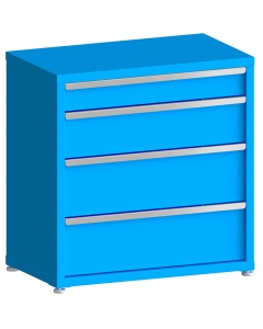 "100# Capacity Drawer Cabinet, 5"",8"",10"",10"" drawers, 37"" H x 36"" W x 21"" D"