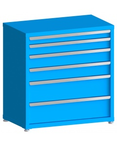 "100# Capacity Drawer Cabinet, 3"",4"",5"",5"",8"",8"" drawers, 37"" H x 36"" W x 21"" D"