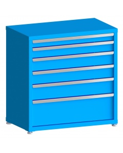 "100# Capacity Drawer Cabinet, 3"",4"",5"",5"",6"",10"" drawers, 37"" H x 36"" W x 21"" D"