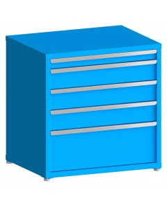 "100# Capacity Drawer Cabinet, 3"",6"",6"",6"",12"" drawers, 37"" H x 36"" W x 28"" D"