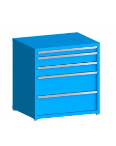 """200# Capacity Drawer Cabinet, 10"""",10"""",5"""",5"""",3"""" drawers, 37"""" H x 36"""" W x 28"""" D"""