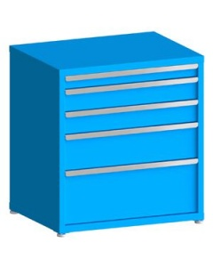 "100# Capacity Drawer Cabinet, 3"",8"",5"",5"",12"" drawers, 37"" H x 36"" W x 28"" D"
