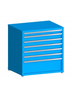 "100# Capacity Drawer Cabinet, 3"",4"",4"",4"",4"",4"",10"" drawers, 37"" H x 36"" W x 28"" D"