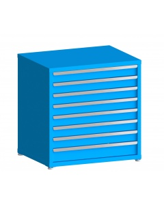 "100# Capacity Drawer Cabinet, 4"",4"",4"",4"",4"",4"",4"",5"" drawers, 37"" H x 36"" W x 28"" D"
