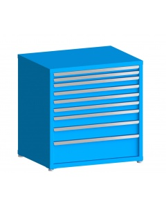"100# Capacity Drawer Cabinet, 2"",2"",3"",3"",3"",3"",4"",5"",8"" drawers, 37"" H x 36"" W x 28"" D"
