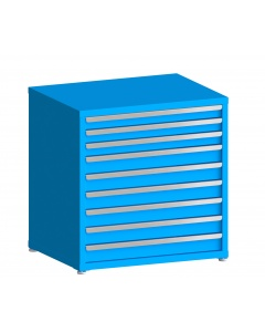 """200# Capacity Drawer Cabinet, 3"""",3"""",3"""",4"""",4"""",4"""",4"""",4"""",4"""" drawers, 37"""" H x 36"""" W x 28"""" D"""