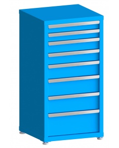 "100# Capacity Drawer Cabinet, 3"",3"",4"",4"",5"",6"",6"",8"" drawers, 43"" H x 22"" W x 21"" D"
