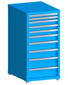 "100# Capacity Drawer Cabinet, 2"",2"",3"",3"",3"",4"",5"",5"",6"",6"" drawers, 43"" H x 22"" W x 28"" D"