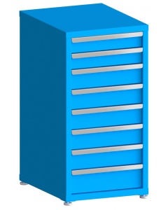"100# Capacity Drawer Cabinet, 4"",4"",5"",5"",5"",5"",5"",6"" drawers, 43"" H x 22"" W x 28"" D"