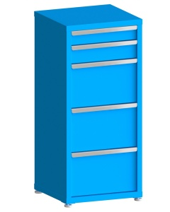 """200# Capacity Drawer Cabinet, 4"""",5"""",12"""",12"""",12"""" drawers, 49"""" H x 22"""" W x 21"""" D"""