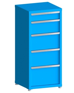 """200# Capacity Drawer Cabinet, 5"""",8"""",10"""",10"""",12"""" drawers, 49"""" H x 22"""" W x 21"""" D"""