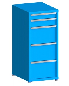 """200# Capacity Drawer Cabinet, 4"""",5"""",12"""",12"""",12"""" drawers, 49"""" H x 22"""" W x 28"""" D"""