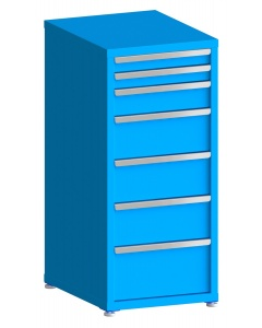 """200# Capacity Drawer Cabinet, 3"""",3"""",5"""",8"""",8"""",8"""",10"""" drawers, 49"""" H x 22"""" W x 28"""" D"""