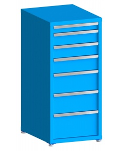 """200# Capacity Drawer Cabinet, 3"""",5"""",5"""",6"""",8"""",8"""",10"""" drawers, 49"""" H x 22"""" W x 28"""" D"""