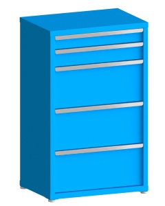"""200# Capacity Drawer Cabinet, 4"""",5"""",12"""",12"""",12"""" drawers, 49"""" H x 30"""" W x 21"""" D"""