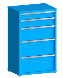 """200# Capacity Drawer Cabinet, 5"""",6"""",10"""",12"""",12"""" drawers, 49"""" H x 30"""" W x 21"""" D"""