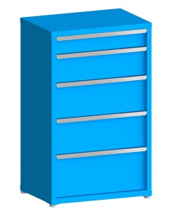 """200# Capacity Drawer Cabinet, 5"""",8"""",10"""",10"""",12"""" drawers, 49"""" H x 30"""" W x 21"""" D"""
