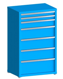 """200# Capacity Drawer Cabinet, 3"""",3"""",5"""",8"""",8"""",8"""",10"""" drawers, 49"""" H x 30"""" W x 21"""" D"""