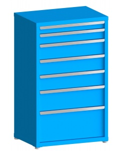 """200# Capacity Drawer Cabinet, 3"""",4"""",6"""",6"""",6"""",8"""",12"""" drawers, 49"""" H x 30"""" W x 21"""" D"""