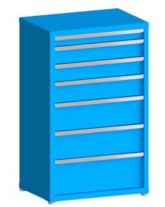 """200# Capacity Drawer Cabinet, 3"""",5"""",5"""",6"""",8"""",8"""",10"""" drawers, 49"""" H x 30"""" W x 21"""" D"""