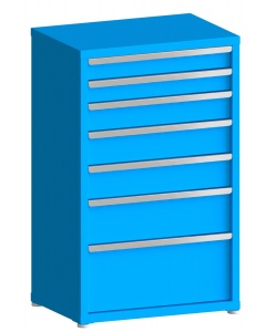 """200# Capacity Drawer Cabinet, 4"""",4"""",5"""",6"""",6"""",8"""",12"""" drawers, 49"""" H x 30"""" W x 21"""" D"""