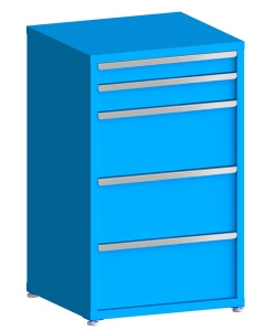 """200# Capacity Drawer Cabinet, 4"""",5"""",12"""",12"""",12"""" drawers, 49"""" H x 30"""" W x 28"""" D"""