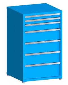 """200# Capacity Drawer Cabinet, 3"""",3"""",5"""",8"""",8"""",8"""",10"""" drawers, 49"""" H x 30"""" W x 28"""" D"""