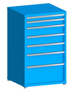 """200# Capacity Drawer Cabinet, 3"""",4"""",6"""",6"""",6"""",8"""",12"""" drawers, 49"""" H x 30"""" W x 28"""" D"""
