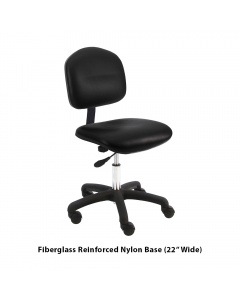 Lincoln Vinyl Office Desk Height Chairs