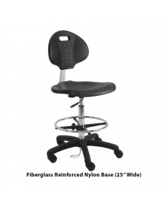 Urethane ESD Tall with Footring Chairs