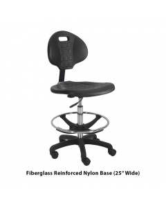 """Urethane Tall Chair with Washington Footring 10"""" Stroke"""