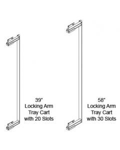 Locking Arm, Tray Cart