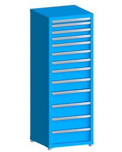 "100# Capacity Drawer Cabinet, 2"",3"",3"",3"",4"",4"",4"",5"",5"",6"",6"",6"",6"" drawers, 61"" H x 22"" W x 21"" D"