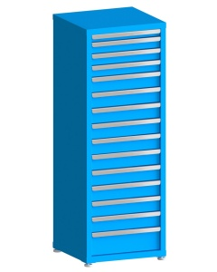 "100# Capacity Drawer Cabinet, 2"",3"",3"",3"",4"",4"",4"",4"",4"",4"",4"",4"",4"",4"",6"" drawers, 61"" H x 22"" W x 21"" D"