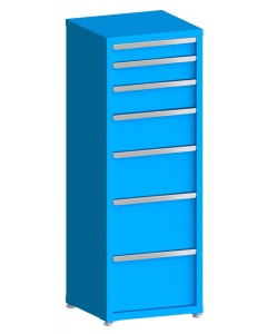 """200# Capacity Drawer Cabinet, 4"""",5"""",6"""",8"""",10"""",12"""",12"""" drawers, 61"""" H x 22"""" W x 21"""" D"""