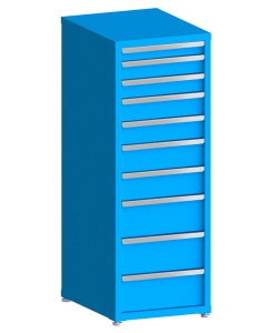 "100# Capacity Drawer Cabinet, 3"",4"",4"",5"",5"",6"",6"",8"",8"",8"" drawers, 61"" H x 22"" W x 28"" D"